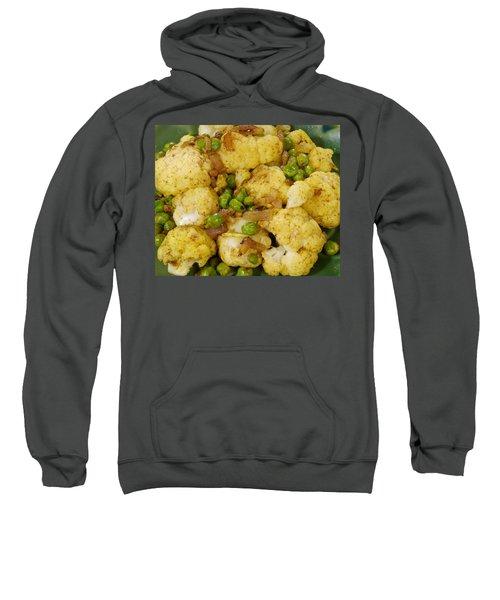 Curried Cauliflower Sweatshirt by Science Source