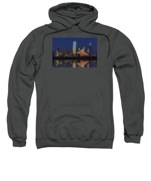 Dallas Aglow Sweatshirt by Rick Berk