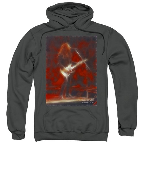 Deflep-adrenalize-vivian-ge11-fractal Sweatshirt by Gary Gingrich Galleries
