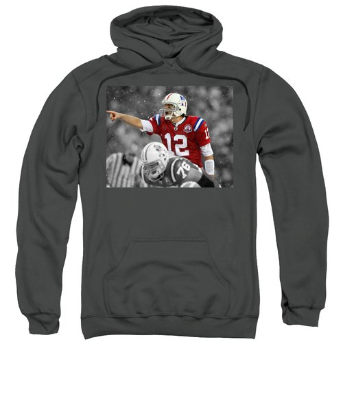 Field General Tom Brady  Sweatshirt by Brian Reaves