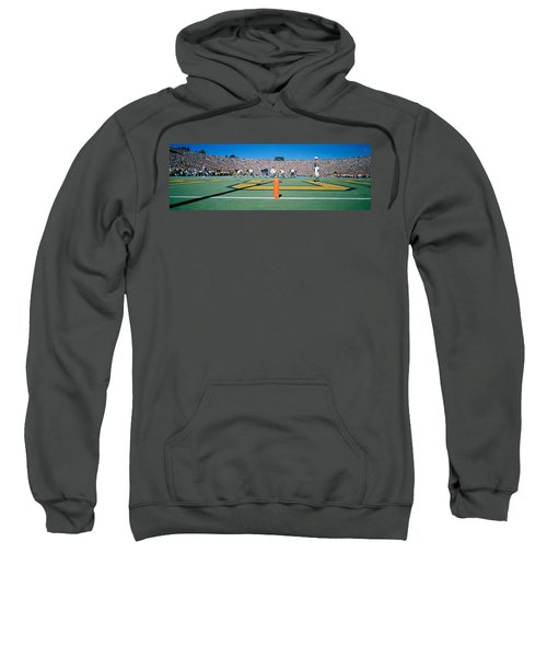 Football Game, University Of Michigan Sweatshirt by Panoramic Images