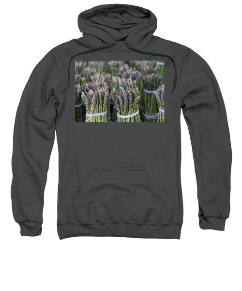 Fresh Asparagus Sweatshirt by Mike  Dawson