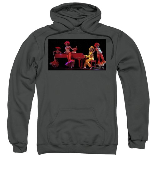 I Love Rock And Roll Music Sweatshirt by Bob Christopher
