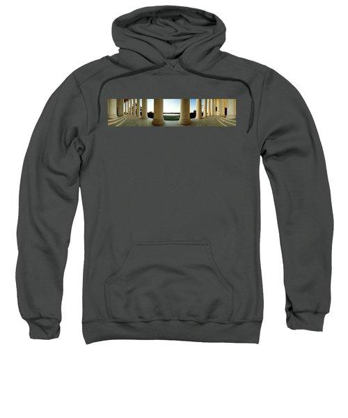 Jefferson Memorial Washington Dc Sweatshirt by Panoramic Images