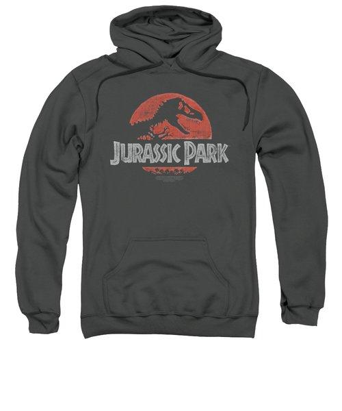 Jurassic Park - Faded Logo Sweatshirt by Brand A