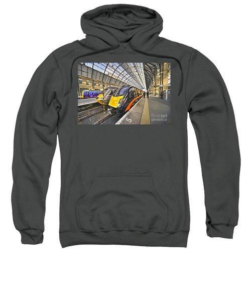 Kings Cross Variety  Sweatshirt by Rob Hawkins