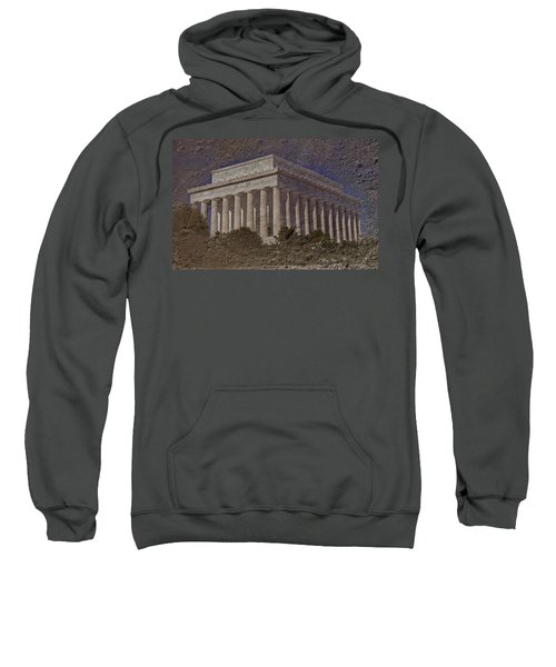 Lincoln Memorial Sweatshirt by Skip Willits