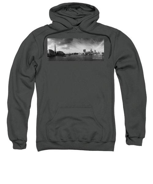 London City Panorama Sweatshirt by Pixel Chimp