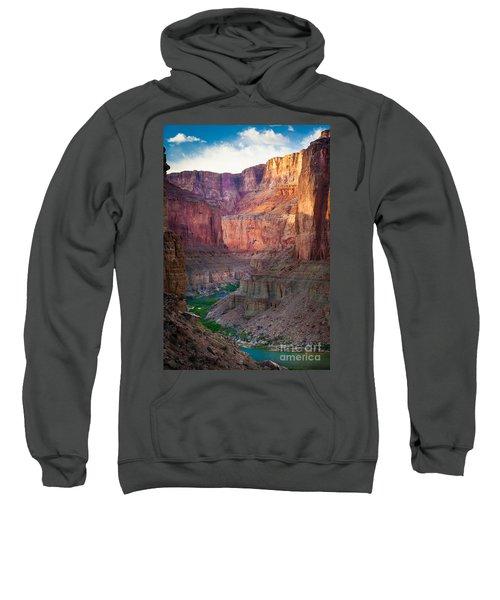 Marble Cliffs Sweatshirt by Inge Johnsson