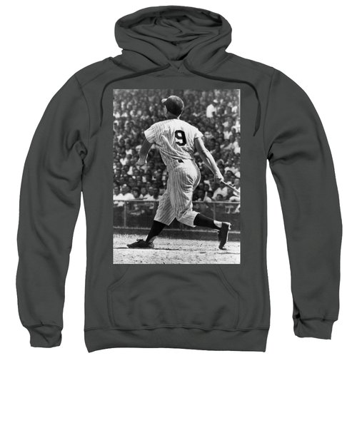 Maris Hits 52nd Home Run Sweatshirt by Underwood Archives