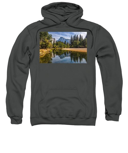 Merced River View II Sweatshirt by Peter Tellone