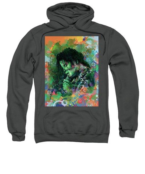 Michael Jackson 15 Sweatshirt by Bekim Art