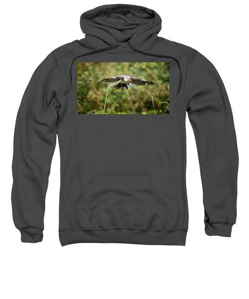 Mockingbird In Flight Sweatshirt by Bill Wakeley
