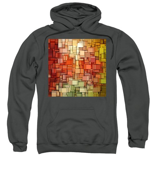 Modern Abstract Viii Sweatshirt by Lourry Legarde