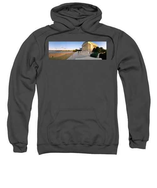 Monument At The Riverside, Jefferson Sweatshirt by Panoramic Images