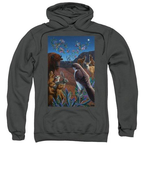 Moonlight Cantata Sweatshirt by James W Johnson