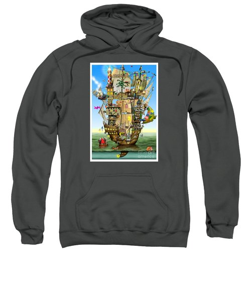 Norah's Ark Sweatshirt by Colin Thompson