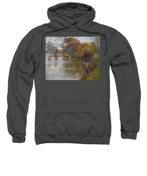 November 4th At Hyde Park Sweatshirt by Ylli Haruni