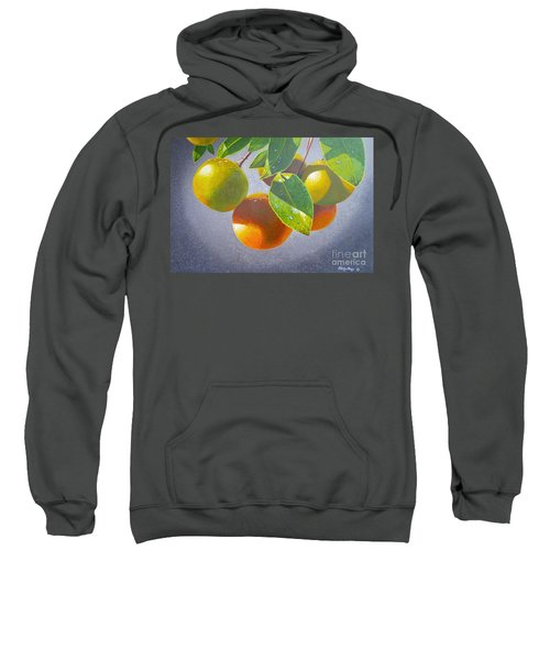 Oranges Sweatshirt by Carey Chen