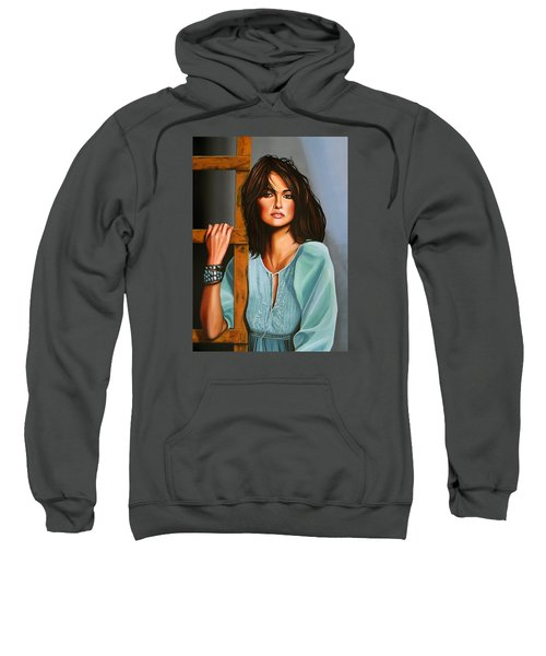 Penelope Cruz Sweatshirt by Paul Meijering