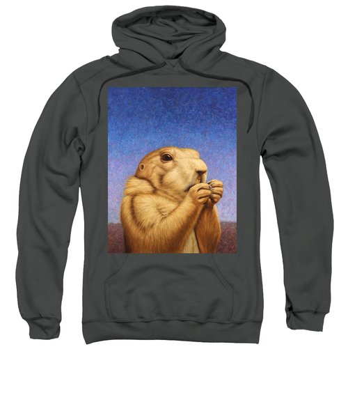 Prairie Dog Sweatshirt by James W Johnson