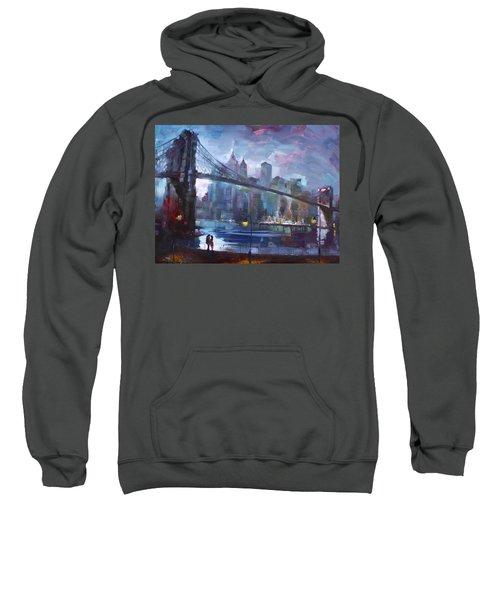Romance By East River II Sweatshirt by Ylli Haruni