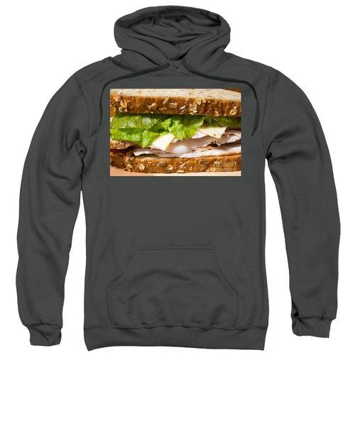 Smoked Turkey Sandwich Sweatshirt by Edward Fielding