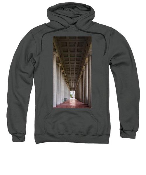 Soldier Field Colonnade Sweatshirt by Steve Gadomski