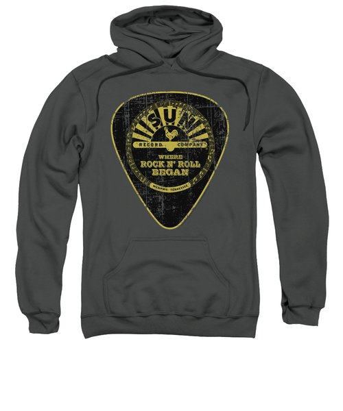Sun - Guitar Pick Sweatshirt by Brand A
