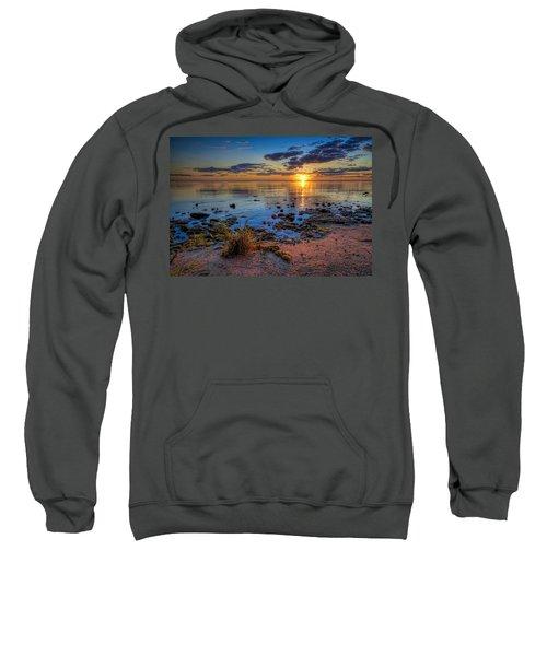 Sunrise Over Lake Michigan Sweatshirt by Scott Norris