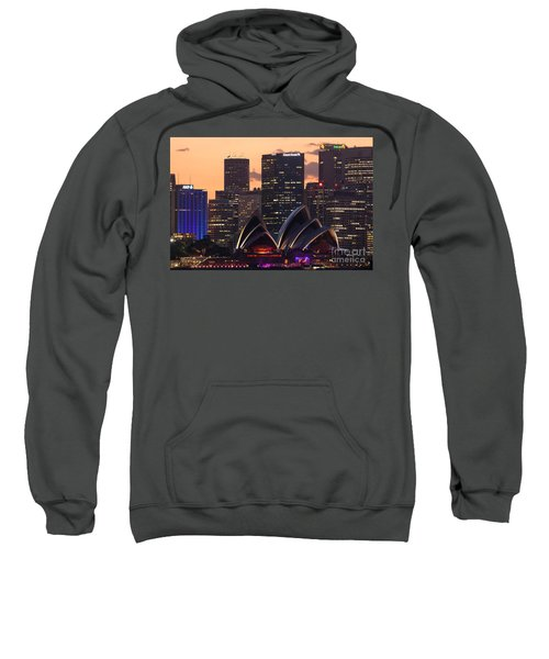 Sydney At Sunset Sweatshirt by Matteo Colombo