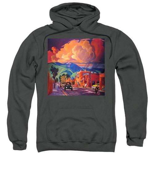 Taos Inn Monsoon Sweatshirt by Art James West