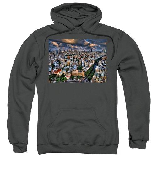 Tel Aviv Lookout Sweatshirt by Ron Shoshani