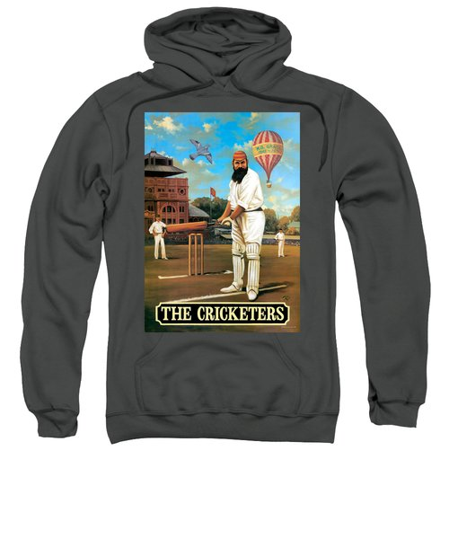 The Cricketers Sweatshirt by Peter Green