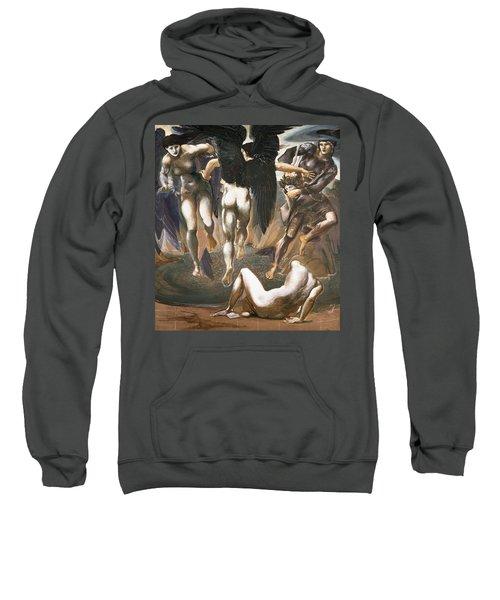 The Death Of Medusa II, 1882 Sweatshirt by Sir Edward Coley Burne-Jones