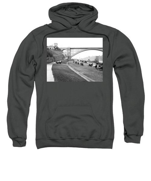 The Harlem River Speedway Sweatshirt by Detroit Publishing Company