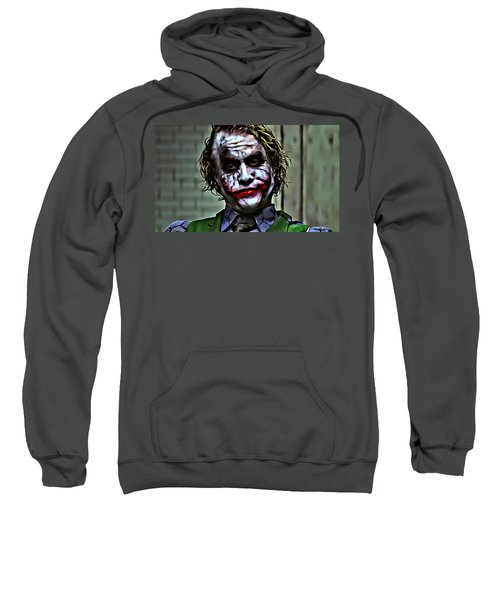 The Joker Sweatshirt by Florian Rodarte