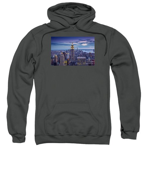 Top Of The World Sweatshirt by Marco Crupi