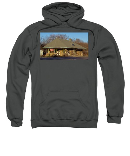 Train Stations And Libraries Sweatshirt by Skip Willits