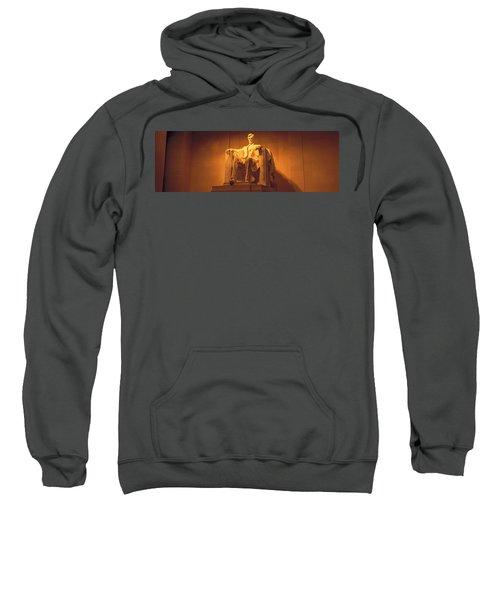 Usa, Washington Dc, Lincoln Memorial Sweatshirt by Panoramic Images