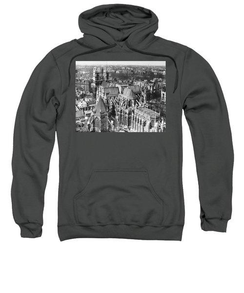 Westminster Abbey In London Sweatshirt by Underwood Archives
