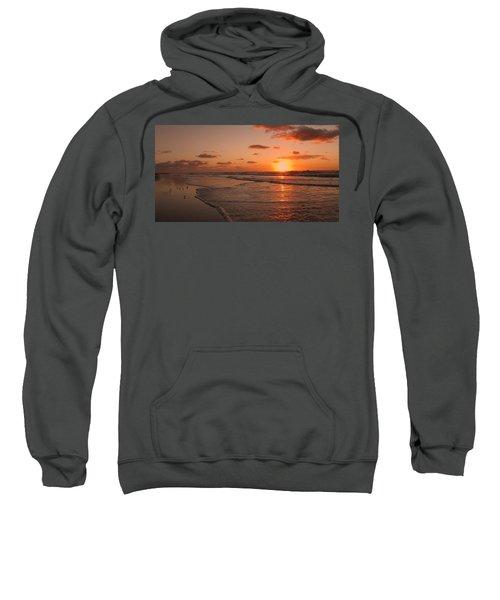 Wildwood Beach Sunrise II Sweatshirt by David Dehner