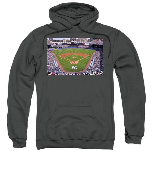 Yankee Stadium Sweatshirt by Allen Beatty