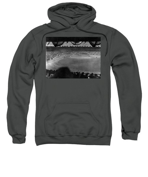 Yankees Defeat Giants Sweatshirt by Underwood Archives