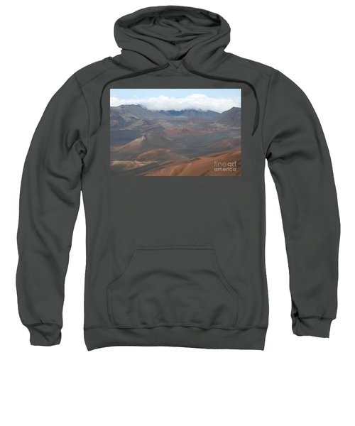 Haleakala Volcano Maui Hawaii Sweatshirt by Sharon Mau