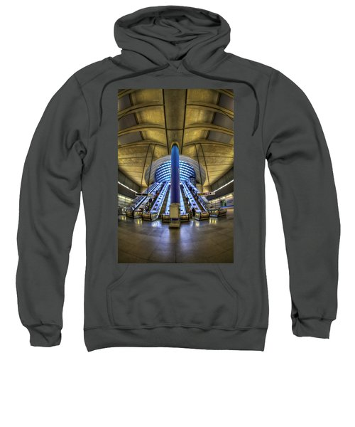 Alien Landing Sweatshirt by Evelina Kremsdorf