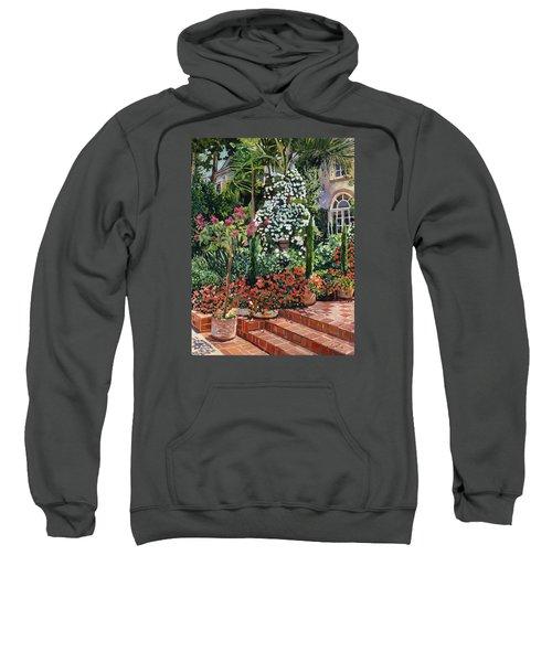 A Garden Approach Sweatshirt by David Lloyd Glover