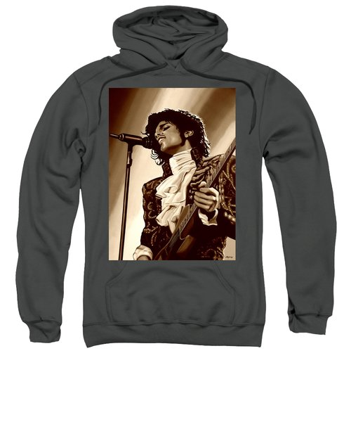 Prince The Artist Sweatshirt by Paul Meijering