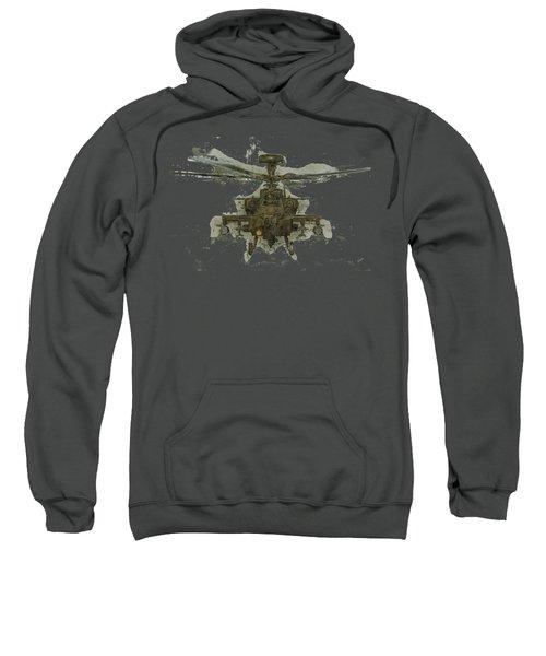 Apache Helicopter Sweatshirt by Roy Pedersen