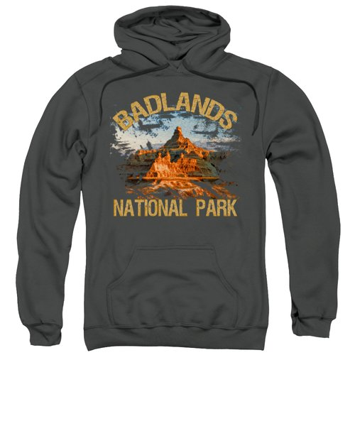 Badlands National Park Sweatshirt by David G Paul